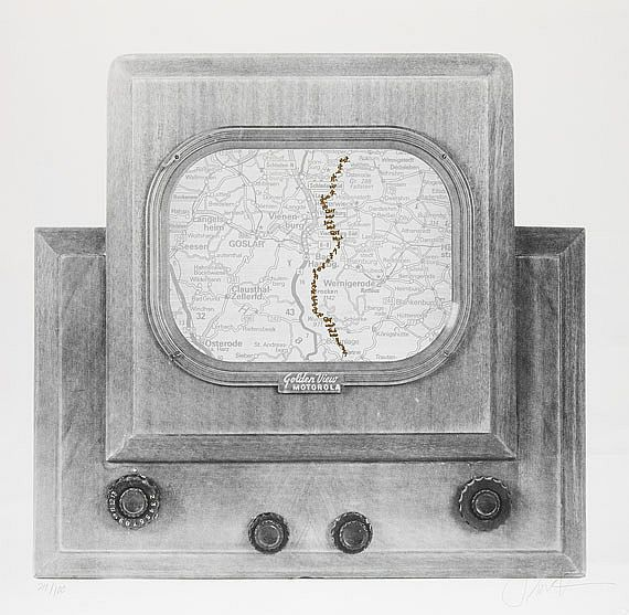 Nam June Paik - Golden View